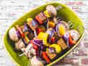 Seitan-Schaschlik mit Currysoße © Karin Klemmer | Wallygusto