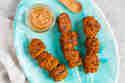 Vegane Seitanspieße mit Erdnuss-Kokos-Soße © Sabrina Kiefer & Steffen Jost | Feed me up before you go-go