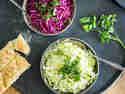 Selbstgemachter Krautsalat