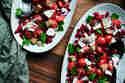Tomaten-Granatapfel-Salat mit Parmesan © Janine Hegendorf | Nuts and Blueberries