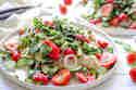 Glasnudelsalat mit Erdbeeren & Gurken © Elle Teuscher | Elle Republic