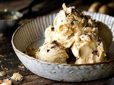 Erdnussbutter Eis Rezept