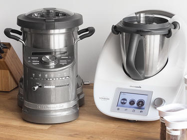 Im Test Kitchenaid Cook Processor Vs Thermomix Tm5