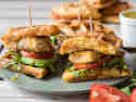 Streetfood Waffel Sandwiches