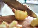 Schritt 6: Äpfel halbieren