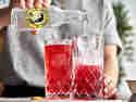 Gin & Tea mit Thomas Henry Tonic Water auffüllen