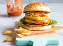 Seitanburger mit gegrillter Ananas und Coleslaw © Sabrina Kiefer & Steffen Jost | Feed me up before you go-go
