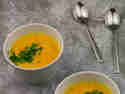 Kürbissuppe mit Orange und Kokosmilch © Karin Klemmer | Wallygusto
