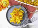 Kürbis-Käsespätzle mit Curry und Thymian © Jana Nörenberg   Nom Noms Food