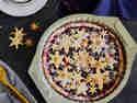 Winterlicher Cranberry Pie