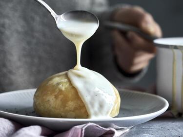 Dampfnudeln mit Vanillesauce