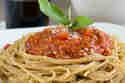 Vollkornspaghetti mit veganer Bolognese © Anne Klein | frisch verliebt