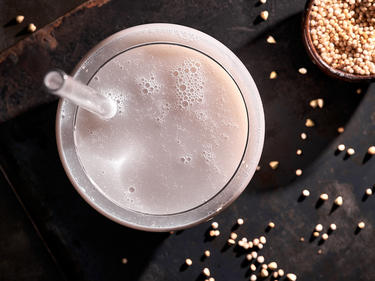 Buchweizenmilch