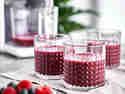 Fruchtnektar selber machen mit einem Pflanzenmilchbereiter