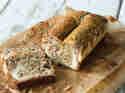 Bananenbrot trifft Käsekuchen – mit Joghurtswirl
