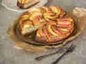 Apfel-Mandel-Cheesecake
