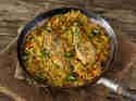Würziges Cajun-Hähnchen mit Reis_mag