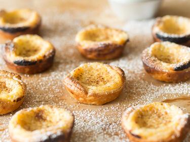 Pasteis De Nata Portugiesische Puddingtortchen