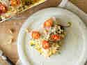 Vegane Kürbis-Zucchini-Lasagne mit Cashewcreme