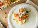 Vegane Kürbis-Zucchini-Lasagne