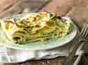 Pesto-Lasagne mit grünen Bohnen und Kartoffeln_mag
