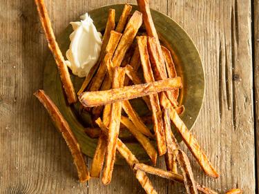 Knusprige Süßkartoffel Pommes Selber Machen