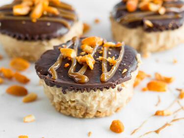 Schokoladen Erdnuss Tortchen Ohne Backen