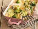 Hühnchen-Quinoa-Broccoli-Auflauf