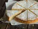 Milchreiskuchen mit Mandeln