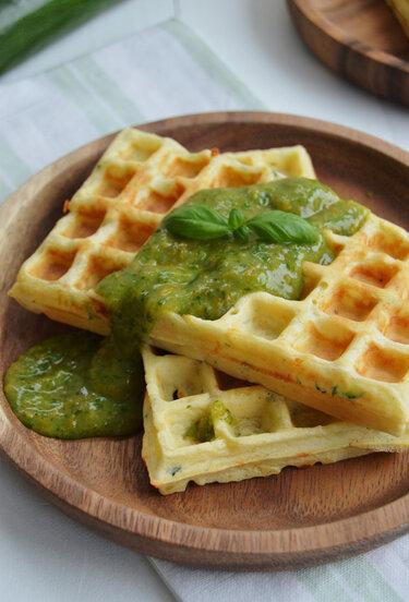 Waffeln_Zucchini-Parmesan-Waffeln_Foodistas
