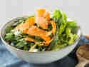 Karottensalat mit dreierlei Kohl und Sesam-Vinaigrette
