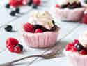 Frozen Joghurt Cupcakes