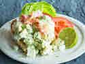 Leichter Eiersalat mit Avocado