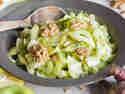 Topinambur-Salat mit Fenchel und grünem Apfel
