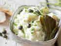 (Fast) Klassischer, cremiger Eiersalat mit Frischkäse