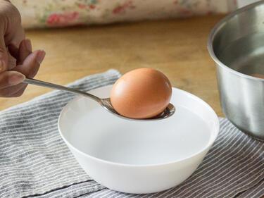 Eier kochen ohne loch