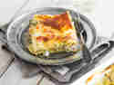 Lasagne mit Artischockenherzen und Champignons
