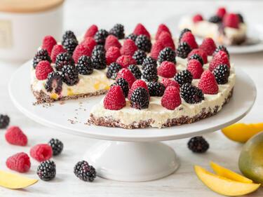 Schneller Kuchen Mit Mango Creme Ohne Backen