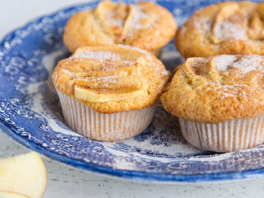 Klassiker Im Miniformat Saftige Apfel Zimt Muffins
