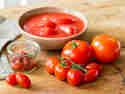 Tomaten für Pizzasauce