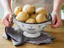 Die Grundlage von fluffigem Püree - mehligkochende Kartoffeln