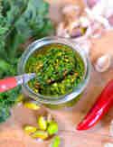 Grünkohlpesto mit Pistazien © S-Küche
