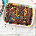 Geburtstagskuchen mit Schokolade