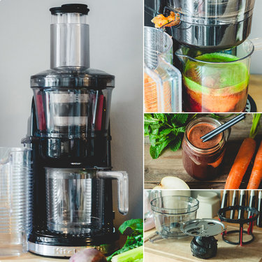 Tchibo Entsafter Slow Juicer Test : Entsafter im Test: Der KitchenAid Artisan Slow Juicer