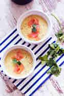 Kartoffelcremesuppe mit Lachs © Schätze aus meiner Küche