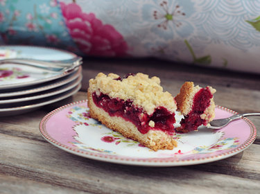Kirsch-Streusel-Kuchen © A cake a day