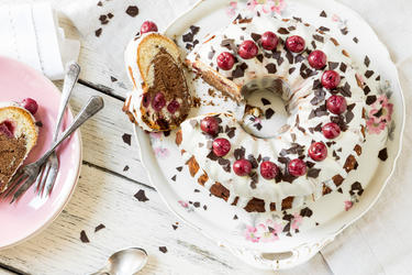 Torte Im Kuchen Schwarzwalder Kirsch Gugelhupf