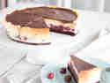 Schwarzwälder Cheesecake