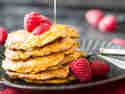 Süß, süßer, Süßkartoffel-Pancakes! Low-Carb-Eierkuchen