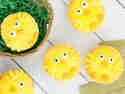 Backen für Kinder: Küken-Muffins
